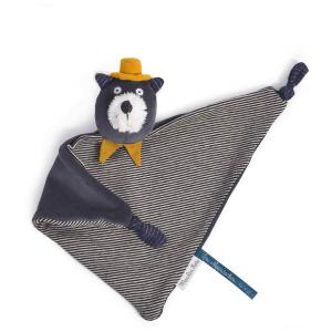 Moulin Roty - 666015 - Doudou chat gris Alphonse Les Moustaches (386146)