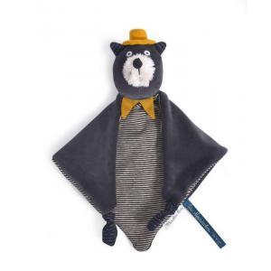 Moulin Roty - 666015 - Doudou chat gris Alphonse Les Moustaches (386146)