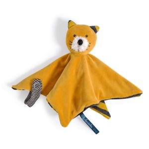 Moulin Roty - 666016 - Doudou chat moutarde Lulu Les Moustaches (386148)