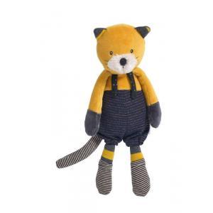 Moulin Roty - 666021 - Poupée chat moutarde Lulu Les Moustaches (386154)