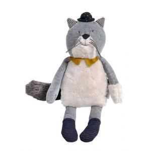 Moulin Roty - 666022 - Poupée chat gris clair Fernand Les Moustaches (386156)