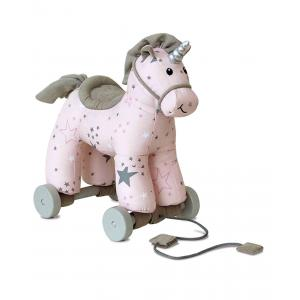 Little Bird Told Me - LB3079 - Unicorns et Friends - Celeste Unicorn Pull Along (386370)