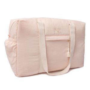 Nobodinoz - N107707 - Sac de maternité Opéra en coton bio 29x46x20 cm dream pink (386414)