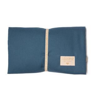 Nobodinoz - N107653 - Matelas à langer de voyage Mozart en coton bio 68x50 cm night blue (386434)