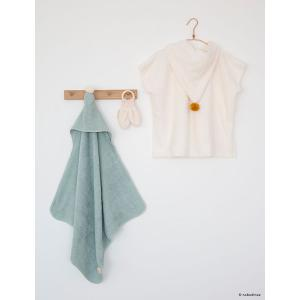 Nobodinoz - N107837 - Poncho de bain 3-5 ans So cute green (386444)