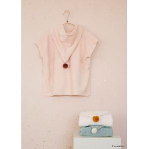 Nobodinoz - N107820 - Poncho de bain 3-5 ans So cute pink (386446)