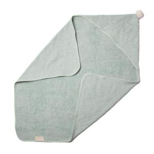 Nobodinoz - N107806 - Cape de bain So Cute en coton bio 73x73 cm green (386450)