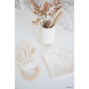 Nobodinoz - N107875 - Bavoir Bandana nouveau-né So Cute en coton bio  natural (386468)