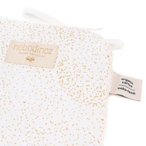 Nobodinoz - N096230 - Tour de lit Nest 207x32 cm gold bubble - white (386524)