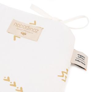 Nobodinoz - N096247 - Tour de lit Nest 207x32 cm gold secrets - white (386532)