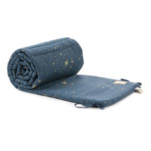 Nobodinoz - N096339 - Tour de lit Nest 207x32 cm gold stella - night blue (386536)