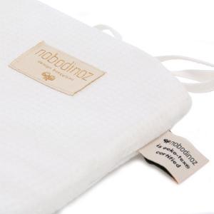 Nobodinoz - N096407 - Tour de lit Nest 207x32 cm coton uni white (386548)