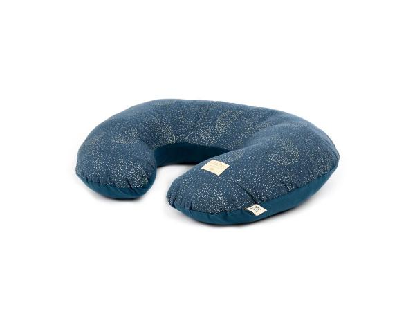 Coussin d'allaitement sunrise 50x60x15 cm gold bubble - night blue