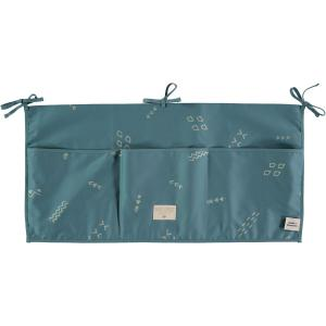 Nobodinoz - N099453 - Poches de rangement Merlin 30x60 cm gold secrets - magic green (386988)