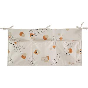 Nobodinoz - N099545 - Poches de rangement Merlin 30x60 cm sunset eclipse - natural (387000)