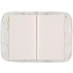 Nobodinoz - N098715 - Protège carnet de santé Poème 24x18 cm gold bubble - white (387452)