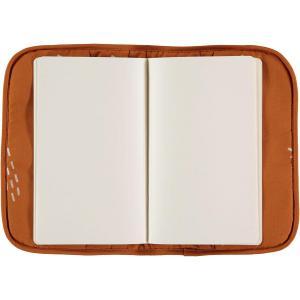 Nobodinoz - N098838 - Protège carnet de santé Poème 24x18 cm gold secret - sunset (387462)
