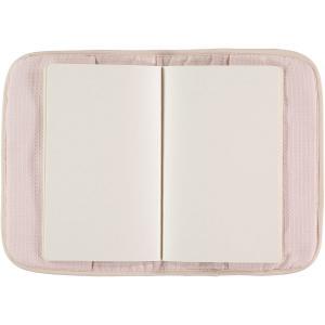 Nobodinoz - N098883 - Protège carnet de santé Poème 24x18 cm dream pink (387480)