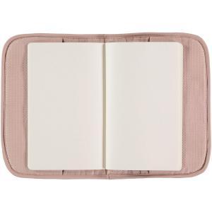 Nobodinoz - N098906 - Protège carnet de santé Poème 24x18 cm misty pink (387482)