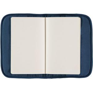 Nobodinoz - N098937 - Protège carnet de santé Poème 24x18 cm night blue (387490)