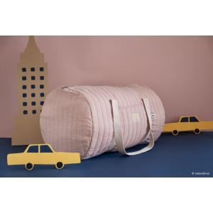 Nobodinoz - N090184 - Sac weekend Los Angeles 30x45x30 cm bloom pink (387528)