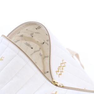 Nobodinoz - N105079 - Sac weekend New York 30x45x30 cm gold secrets - white (387550)