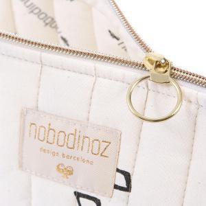 Nobodinoz - N105390 - Trousse de toilette Holiday 14x23 cm black secrets - natural (387574)