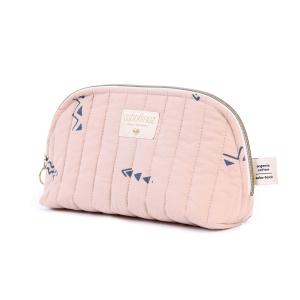 Nobodinoz - N105451 - Trousse de toilette Holiday 14x23 cm blue secrets - misty pink (387576)