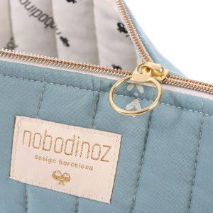 Nobodinoz - N105413 - Trousse de toilette Holiday 14x23 cm gold secrets - magic green (387578)