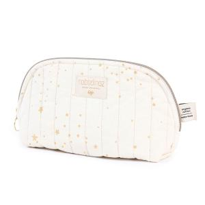 Nobodinoz - N105499 - Trousse de toilette Holiday 14x23 cm gold stella - natural (387588)