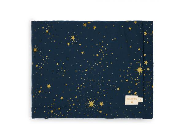 Couverture laponia 100x140 cm gold stella - night blue