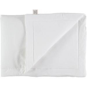 Nobodinoz - N101958 - Couverture Laponia 100x140 cm coton uni white (387910)