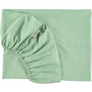 Nobodinoz - N093710 - Drap housse Alhambra 70x140 cm provence green (387928)