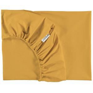 Nobodinoz - N093680 - Drap housse Alhambra 70x140 cm farniente yellow (387930)