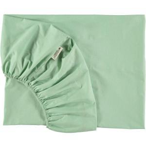 Nobodinoz - N093802 - Drap housse Alhambra 90x200 cm provence green (387942)