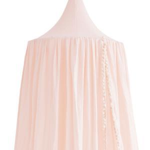 Nobodinoz - N108063 - Ciel de lit Amour pompom 250x50 cm dream pink (388136)