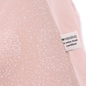Nobodinoz - N104102 - Tipi Phoenix 149 h x100 white bubble - misty pink (388186)