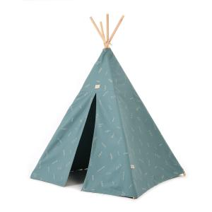 Nobodinoz - N104133 - Tipi Phoenix 149 h x106 gold secrets - magic green (388198)