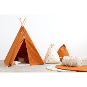 Nobodinoz - N104201 - Tipi Phoenix 149 h x108 gold secret - sunset (388202)