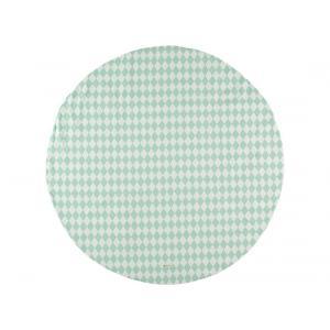 Nobodinoz - N063355 - Tapis de jeu Apache 105 cm losanges verts (388234)