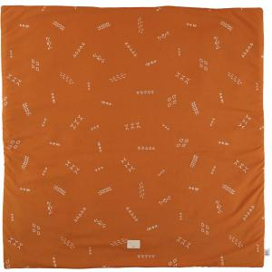 Nobodinoz - N103204 - Tapis de jeu Colorado 100x100 cm gold secret - sunset (388306)