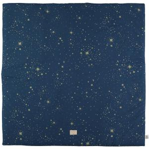 Nobodinoz - N103181 - Tapis de jeu Colorado 100x100 cm gold stella - night blue (388308)
