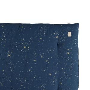 Nobodinoz - N104614 - Futon Eden 148x109 gold stella - night blue (388536)