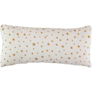 Nobodinoz - N015767 - Coussin Averell 52x24 cm étoiles moutarde (389296)
