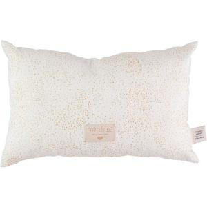 Nobodinoz - N099859 - Coussin Laurel en coton organique 22x35 cm gold bubble - white (389308)