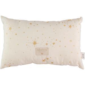 Nobodinoz - N099989 - Coussin Laurel en coton organique 22x35 cm gold stella - natural (389324)