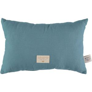 Nobodinoz - N100050 - Coussin Laurel en coton organique 22x35 cm magic green (389372)