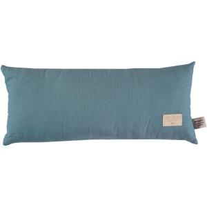 Nobodinoz - N100289 - Coussin Laurel en coton organique 22x35 cm magic green (389388)
