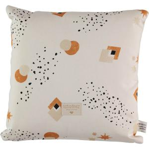 Nobodinoz - N100616 - Coussin Descartes 38x38 cm sunset eclipse - natural (389478)