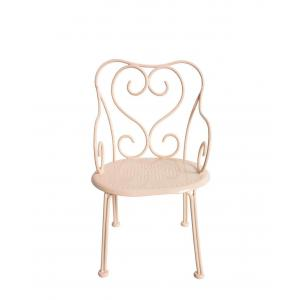 Maileg - 11-4207-02 - Romantic Chair, Mini - Powder (390848)